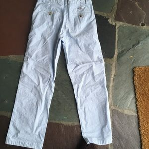 Vineyard Vines Bottoms - Size 14 boys seersucker pants